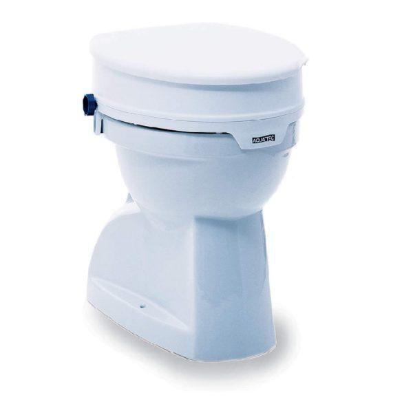 Toilettensitzerhöhung mit Deckel, rialzo per wc con coperchio, Aquatec, Invacare