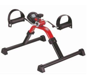 Bewegungstsrainer, rot, Arm- und Beintrainer, digital, pedaliera, esercitatore a pedali