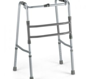 Faltbare Gehhilfe ohne Räder, Deambulatore pieghevole senza ruote