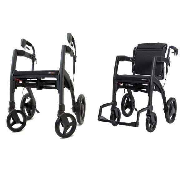 Rollator Rollstuhl, deambulatore carrozzina, Rollz