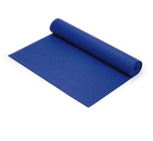 Yogamatte blau, Pilatesmatte, materassino yoga, Sissel, Trainingsmatte