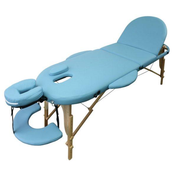 Koffermassageliege, lettino massaggio portatile