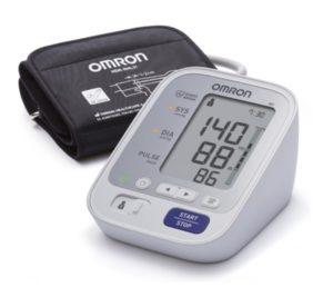 Oberarm-Blutdruckmessgerät, misuratore di pressione, Omron
