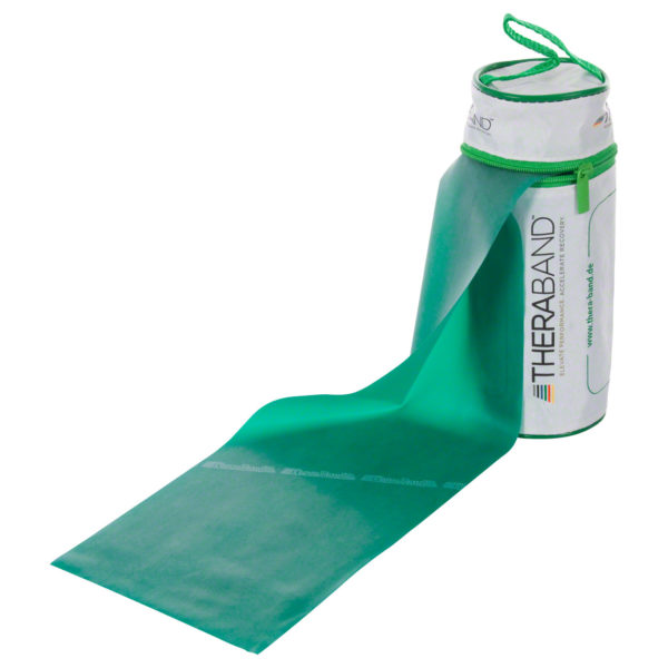 Übungsband grün, stark, TheraBand, elastico esercizi