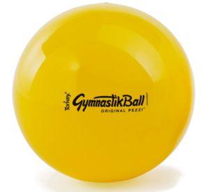 Gymnastikball gelb, pallone da ginnastica, Tonkey