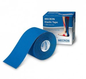 Tape blau, Tape blu, Tape elastico, elastisches Sporttape
